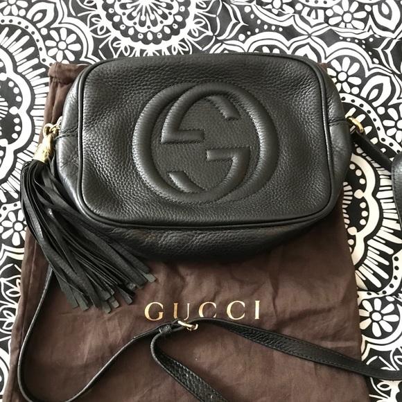 798caa824 Gucci Bags   Authentic Soho Leather Disco Bag   Poshmark